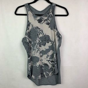 Oakley Hydrolix Racerback Tank Top Gray Medium